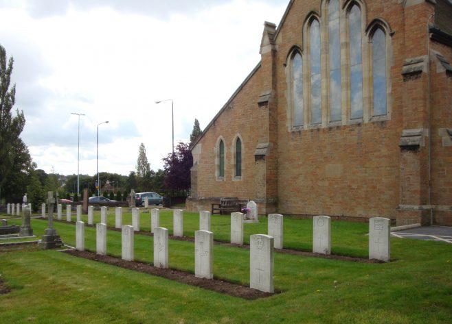 WW1 War Graves St Alban's Church Forest Town 29 August 2009 | P Marples