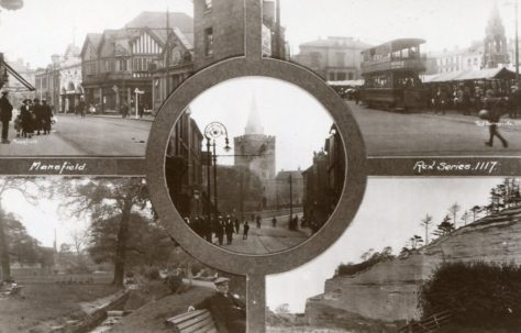 Mansfield in bygone days