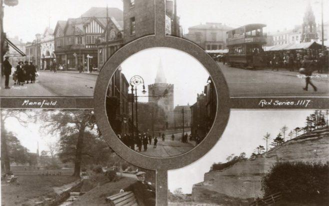Mansfield in bygone days | Rex Series 1117