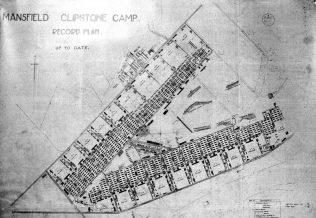 Camp Plan circa 1918