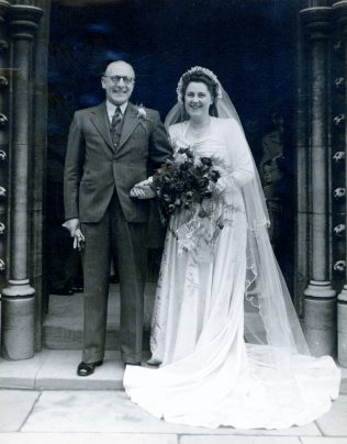 Kathleen and Sydney were married in 1948