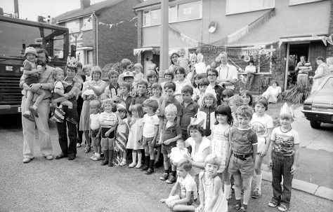 Royal Wedding in Mansfield Woodhouse 1981
