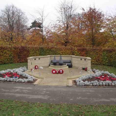 Mansfield's Heroes Memorial | M & P Marples - taken 14 November 2011