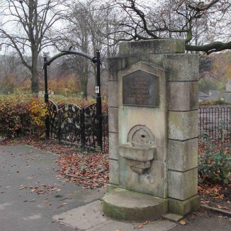 Drinking Fountain erected to the memory of Thomas Hartas of This Town 1937 | M & P Marples - taken 14 November 2011