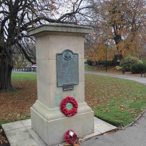 Sherwood Foresters Memorial | M & P Marples - taken 14 November 2011